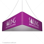 Blimp Trade Show Ceiling Banner 12 Trio