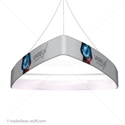 Blimp Trade Show Ceiling Banner 12 Trio Curved