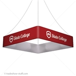 Blimp Trade Show Ceiling Banner 10 Quad