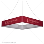Blimp Trade Show Ceiling Banner 12 Quad