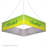 Blimp Trade Show Ceiling Banner 8 Quad