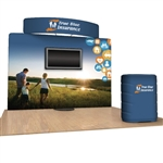 10' Standroid Fabric Trade Show Display