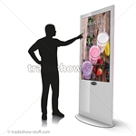 "Blade 50"" LED Touch Screen Digital Signage Kiosk"