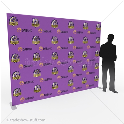 10ft Impact Step and Repeat Media Backdrop