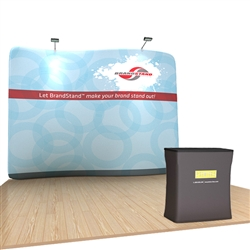 10ft Serpentine WaveLine Trade Show Display Kit