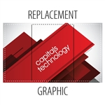 Replacement Fabric Graphic for Waveline Counter