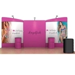 20ft Angelfish WaveLine Fabric Trade Show Display