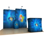 10ft Scallop WaveLine Fabric Trade Show Display