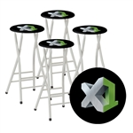 Custom Logo Portable Bar Stools To Go