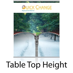 BannerUp TableTop Quick Change Kit