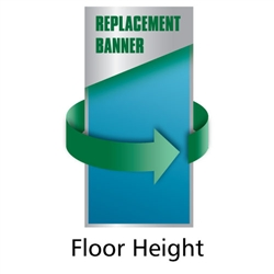 BannerUp BIG Retractable Quick Change