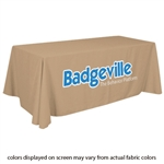 Closeout Beige Trade Show Table Cover