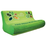 Custom Printed Inflatable Trade Show Loveseat