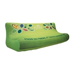 Custom Printed Inflatable Trade Show Couch