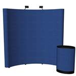Economy 8ft Curved Trade Show PopUp