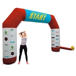 Inflatable Starting Finish Line 14ft