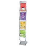 Clear View Trade Show Literature Stand