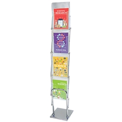 Clear View Literature Stand