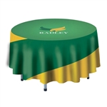 Full Color Imprint 4' Round Table Cover