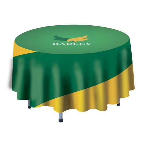 4 Round Custom Banquet Table Cover