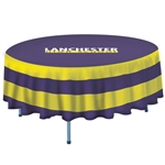 Full Color Imprint 5' Round Table Cover