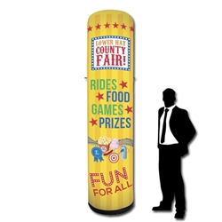 10ft Inflatable Trade Show Tower Display
