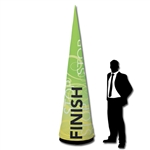Inflatable Trade Show Cone Display