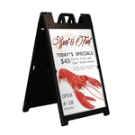 Deluxe Sidewalk A-Frame Sign