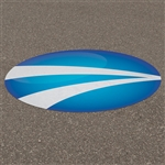 Circle Outdoor Street Decals