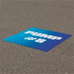 Outdoor Concrete Floor Decals