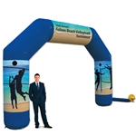 Jumbo Arch Inflatable Display 20'