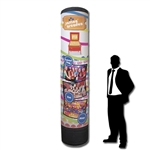 Inflatable Trade Show Tower Illuminated Display