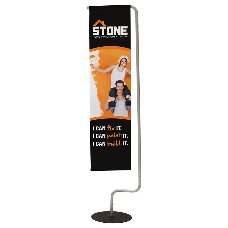 Indoor Hanging Banner Flag Display