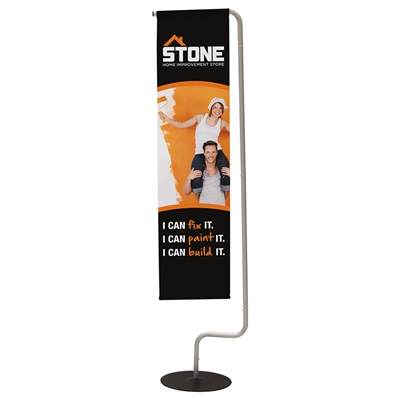 Indoor Hanging Banner Flag Display
