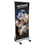 Trek Double-sided Outdoor Retractable Banner Stand