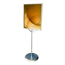 Pedestal Sign Display Stand