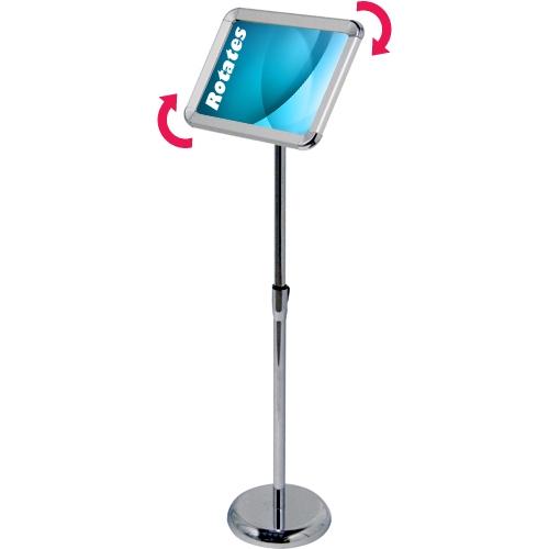 Pedestal Snap Frame Display - 8.5\