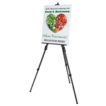 Standard Presentation Easel; Trade Show Display Easel