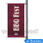 30in Single-Span Street Pole Banner