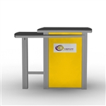 Custom Hybrid Trade Show Counter Pedesta (MOD-1168)