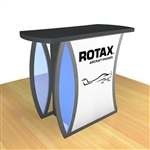 Custom Hybrid Trade Show Counter Pedestal (MOD-1216)
