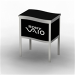 Custom Hybrid Trade Show Counter Pedesta (MOD-1235)