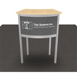 Custom Hybrid Trade Show Counter Pedesta (MOD-1243)