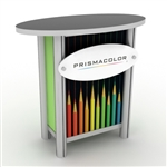Custom Hybrid Trade Show Counter Pedesta (MOD-1266)