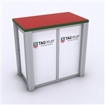 Custom Hybrid Trade Show Counter Pedesta (MOD-1279)