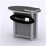 Custom Hybrid Trade Show Counter Pedesta (MOD-1298)