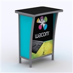 Custom Hybrid Trade Show Counter Pedesta (MOD-1300)