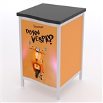 Custom Hybrid Trade Show Counter Pedesta (MOD-1302)