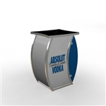 Custom Hybrid Trade Show Counter Pedesta (MOD-1303)