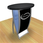 Custom Hybrid Trade Show Counter Pedesta (VK-1602)